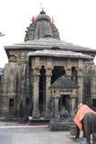在Baijnath,喜马偕尔邦,印度的古老希瓦寺庙 免版税库存照片