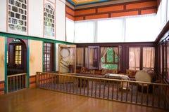 在Bakhchisaray宫殿里面 内部 图库摄影