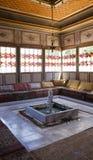 在Bakhchisaray宫殿里面 内部 免版税库存照片