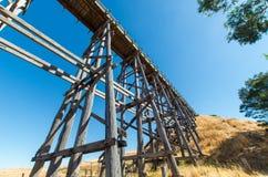 在Ballarat,澳大利亚附近的Nimmon的桥梁 免版税库存图片