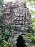 在Banteay Chhmar,柬埔寨的Ta Sok寺庙 图库摄影