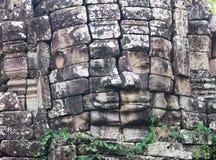 在Banteay Chhmar,柬埔寨的Ta Sok寺庙 免版税库存图片