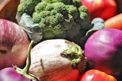 在Basket_4的素食者 免版税库存照片