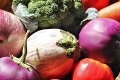 在Basket_5的素食者 免版税库存图片