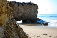 在Beach2的晴天 库存照片