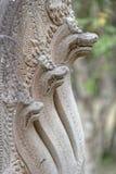 在Beng Mealea寺庙的装饰 库存图片