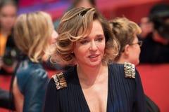 在Berlinale期间的意大利女演员薇拉莉・葛琳诺2018年 库存图片