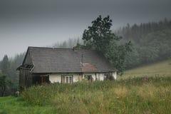 在Beskidy山 免版税图库摄影