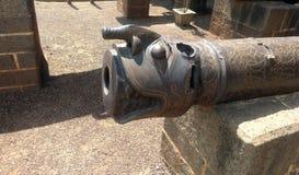 在Bijapur卡纳塔克邦的大炮 免版税库存图片