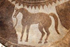 在Bikaner,印度的骆驼节日 库存图片
