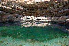 在Bimah污水池里面 库存图片