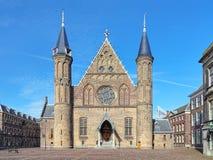 在Binnenhof复合体的Ridderzaal在海牙,荷兰 库存照片