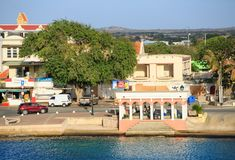 在Bionaire海岸的市场 库存照片