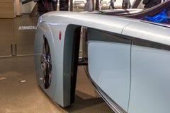 在BMW博物馆的陈列提出未来-豪华103EX劳斯罗伊斯视觉其次100,慕尼黑,德国大胆的概念汽车  图库摄影