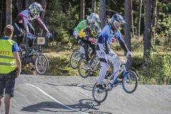 在BMX的挪威杯 免版税库存图片