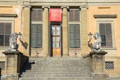 在Boboli庭院打扮博物馆,佛罗伦萨 库存照片