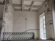 在Bolhao市场里面的古色古香的建筑学在波尔图,葡萄牙 库存图片