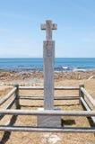 在Bordjiesrif的Dias十字架在开普角附近 免版税库存图片