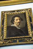 在Borghese汇集的绘画在别墅Borghese罗马意大利 免版税图库摄影