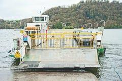在Bowness附近的Hawkshead轮渡 库存照片