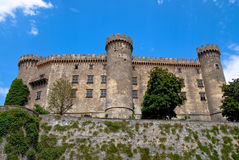 在Bracciano的城堡Odescalchi 免版税图库摄影