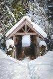 在Brandywine的被盖的木桥落省公园 免版税库存图片