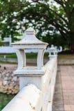 在brige的泰国灯 免版税库存照片