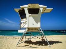 在Bronte海滩,澳大利亚的救生员塔 库存照片