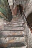 在Brunaleschi的圆顶的顶层的步骤 库存图片