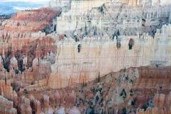 在Bryce峡谷的不祥之物 免版税库存照片