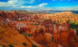 在Bryce峡谷的日落 免版税图库摄影