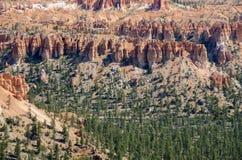 在bryce峡谷的风景 库存图片