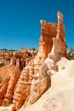 在Bryce峡谷的Hodoos 免版税库存照片
