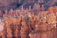 在bryce峡谷utha美国的风景geologycal形成 免版税库存照片