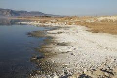 在Burdur湖西部 免版税库存照片