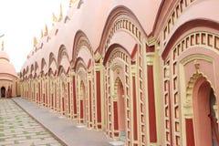 在Burdwan,西孟加拉邦,印度的108希瓦寺庙 免版税库存照片