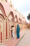 在Burdwan,西孟加拉邦,印度的108希瓦寺庙 库存照片