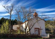 在Cañoncito的天堂般的天空 图库摄影