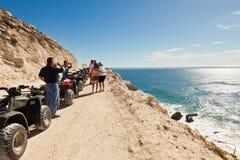 在Cabo San Lucas,墨西哥的ATV浏览 库存图片