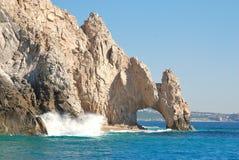在Cabo San Lucas,墨西哥的Los卡约埃尔考斯 免版税库存照片