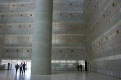 在Caja格拉纳达大厦的现代建筑学 库存照片
