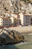 在Caleta的海滩 免版税库存图片
