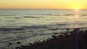 在califorina的日落 影视素材