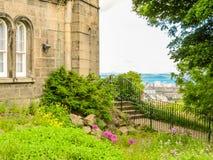 在Calton小山,爱丁堡,苏格兰,英国的纪念碑 图库摄影