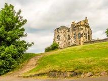 在Calton小山,爱丁堡,苏格兰,英国的纪念碑 库存照片
