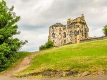 在Calton小山,爱丁堡,苏格兰,英国的纪念碑 免版税库存图片