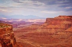 在Canyonlands国家公园,犹他美国的看法 免版税库存图片