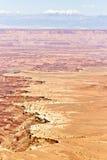在Canyonlands犹他的拉萨勒山 库存图片