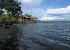 在Caroni河的Churuata 库存照片
