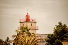 在Cascais的灯塔,葡萄牙 图库摄影